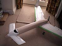Name: Prototype.jpg Views: 72 Size: 48.1 KB Description: Mark I, my first attempt, Oct 2008.  I still have all the bits, motor and servos have been borrowed.