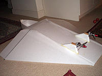 Name: CIMG4998.jpg Views: 108 Size: 151.2 KB Description: I glued the pylons into those slots with Gorilla glue so that it would foam and fill any gaps.  The hardwood fixings for the motors a glued with epoxy.