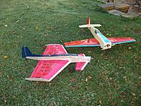 Name: DSCF3481.jpg Views: 95 Size: 294.5 KB Description: ChuddleDuck with the Stevens Aero Edge 540.  Two terrific, aerobatic planes.