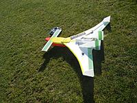 Name: ShortEZ.jpg Views: 109 Size: 271.5 KB Description: My dog and I enjoy this plane.  It's KFm2, with a pusher and the wingplan of a LongEZ, more or less.  I've called it the ShortEZ