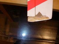 Name: DSCN4836.jpg Views: 104 Size: 54.1 KB Description: balsa tip hardened with CA. I started to strip the frayed monokote
