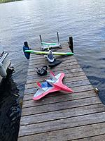 """Name: 0766.jpg Views: 690 Size: 26.1 KB Description: also Here is my scratch built """"Drongo""""with a Mega parkjet motor combination -for when you  """" Feel the Need...The Need for Speed """""""