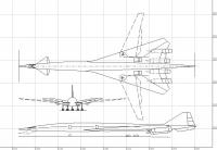 Name: Boeing 2707-200 SST.jpg Views: 2031 Size: 63.3 KB Description: CAD 3 view of B2707-200 that I'm using for a future EDF