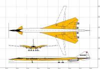 Name: Boeing 2707-200 SST.jpg Views: 3169 Size: 66.2 KB Description: Boeing 2707-200 3-View w/colors