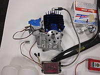 For sale 3W 55i US gas engine and accessories  - RC Groups