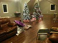 Name: IMG_0275.jpg Views: 279 Size: 92.0 KB Description: Bonus room facing North.  The christmas trees are 7' trees