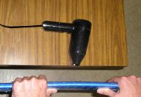Name: esam420.JPG Views: 2675 Size: 59.6 KB Description: The hairdryer was safer than the heat gun that I use initially.  You need to use it HOT and close.