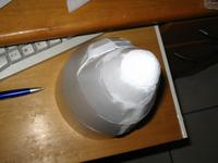 Name: cabine_004_524.jpg Views: 398 Size: 35.2 KB Description: This nosecone was done in less than half an hour. Material used is 2.5mm depron.
