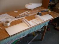 Name: P1000069.jpg Views: 328 Size: 27.5 KB Description: Both wing outer panels skinned.