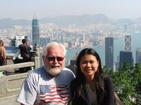 Name: IMG_1901.jpg Views: 479 Size: 104.0 KB Description: Ollie with his translator in Hong Kong. (2002)