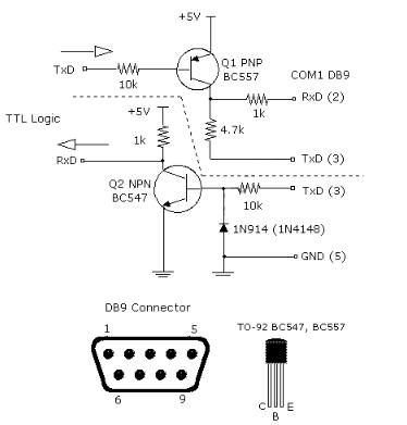 Rs232 Schematic Diagram - Custom Wiring Diagram •