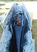 Name: DSCN2416 (2).JPG Views: 31 Size: 2.23 MB Description: see why I use angle to help stiffen the fiberglass hull. There will be more internal bracing soon to be added