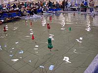 Name: 100_5579.jpg Views: 65 Size: 286.6 KB Description: club bouys on the pond with a course for a event.
