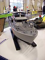 """Name: 100_5601.jpg Views: 68 Size: 123.6 KB Description: MODIFIED 44"""" CG boat to make it a ascale 65 footer. Not real....but some interesting ideas...."""