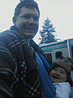 Name: IMAG1209.jpg Views: 125 Size: 95.4 KB Description: Eddy is happy Daddy is home (a little cooler in the morning out here than back East).