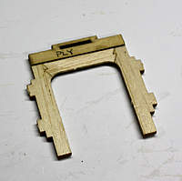 Name: 1.jpg Views: 170 Size: 115.6 KB Description: This will face the wing. The thin ply piece acts as a strengthener and hard point for the wing tab.