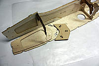Name: 8.jpg Views: 88 Size: 80.9 KB Description: View of very sturdy ply landing gear plate.