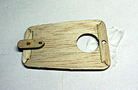 Name: 7.jpg Views: 87 Size: 181.7 KB Description: Glueing the magnet in the hatch. Im using a magnetic building board so I let the board draw the magnet flush to the surface.